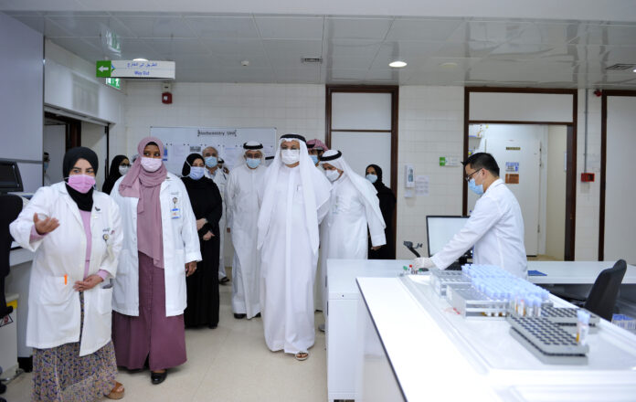 Inauguration of Smart Lab at Dubai Hospital