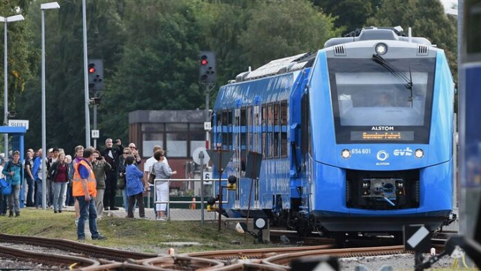 Hydrogen trains will now run in Germany