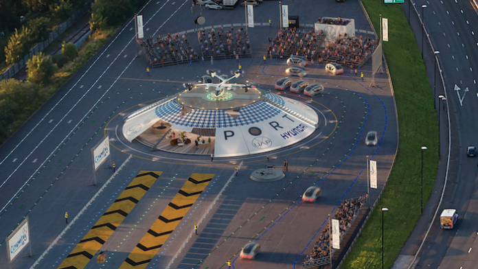 Plans to build world's first pop-up airport