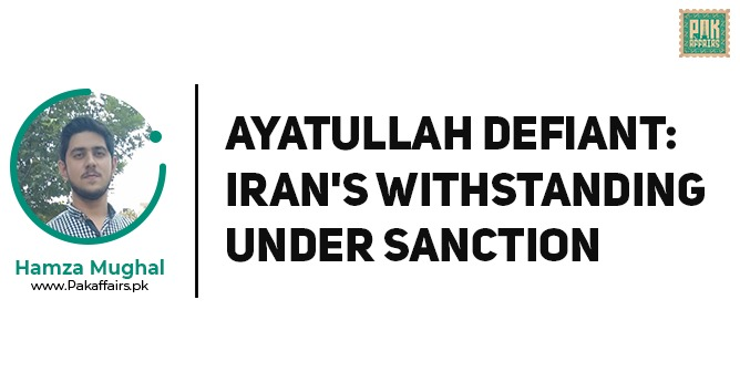Ayatullah Defiant: Iran's Withstanding under Sanction