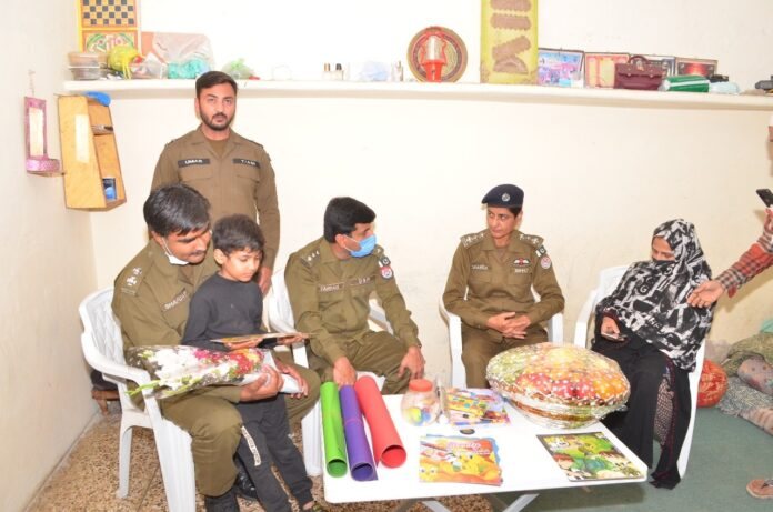 Rawalpindi; Important step of CPO Ahsan Younis, for the victim of his stepfather's torture child