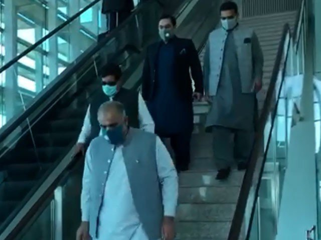 Speaker Asad Qaiser was not allowed to land at Kabul Airport