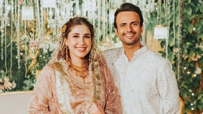 Pakistani film and TV actor Usman Mukhtar ties the knot in an enchanting ceremony