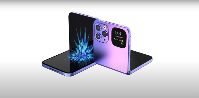 LG and Samsung will supply displays for foldable iPhones.