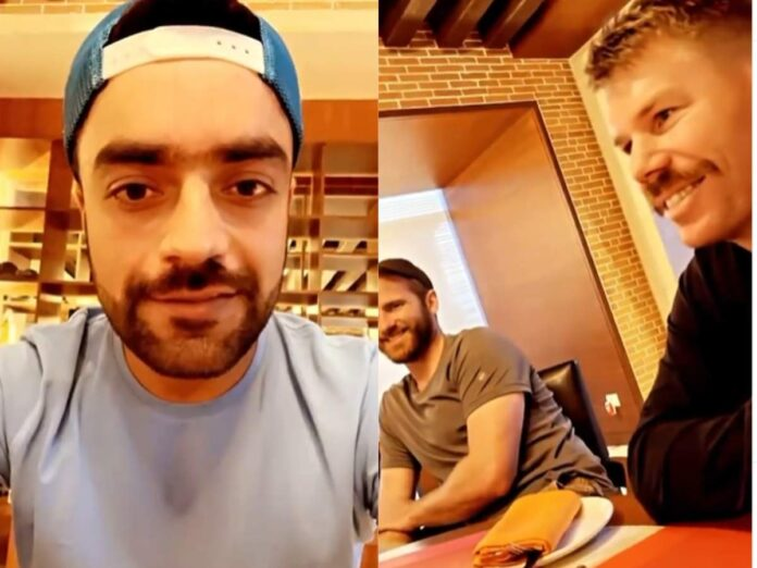 Kane Williamson and David warner spotted Fasting in Rashid Khan's Story