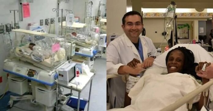 25 years old Woman Gives Birth to 9 Babies