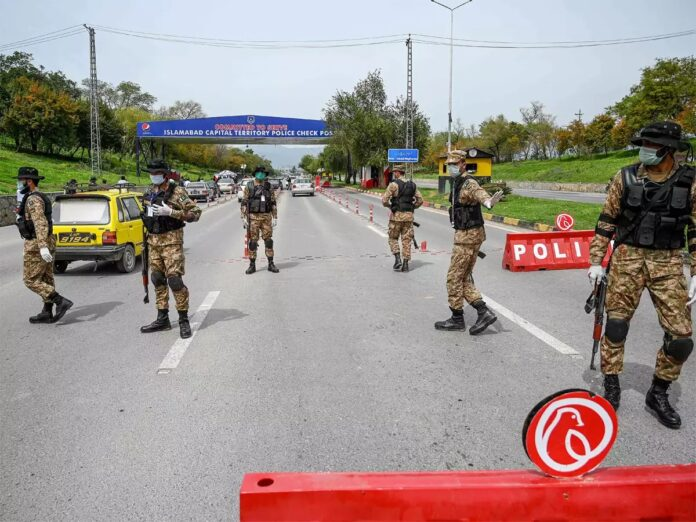 Rawalpindi administration going to set up 12 checkpoints around the whole city