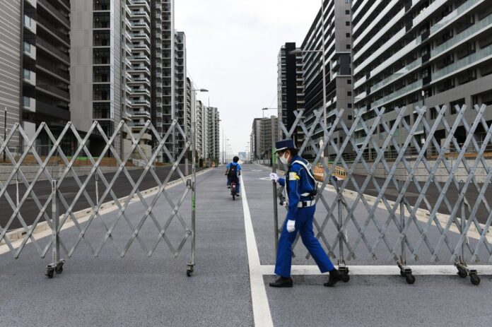 Olympic village tests first COVID case days before Tokyo Games