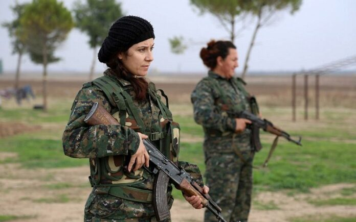 Women take up weapons in support of Afghan Army against Taliban