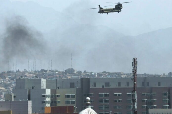 Massive Explosion Heard in Kabul, Sources claims ISIS Rockets to Target American Staff