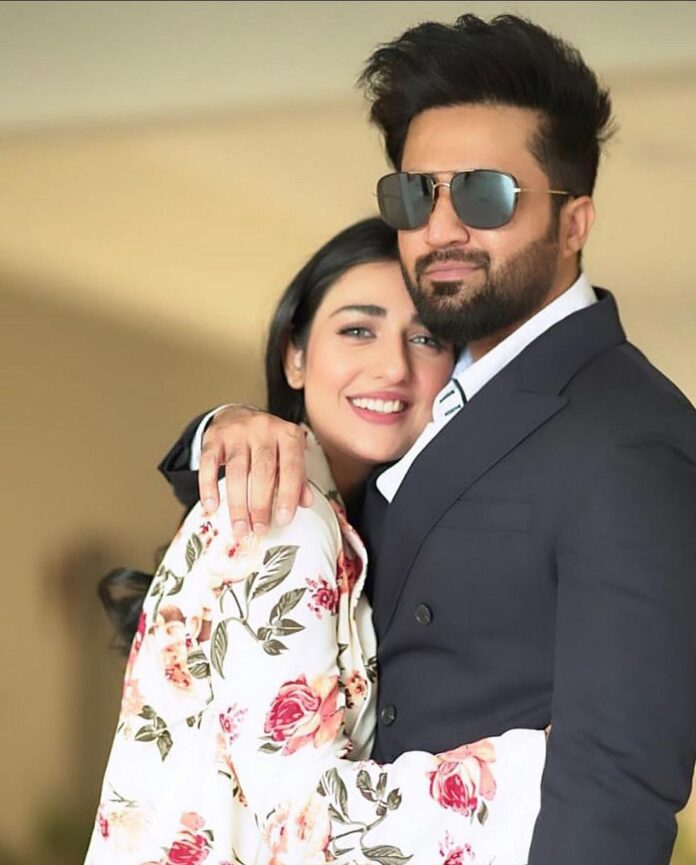 Sarah Khan and Falak Shabir welcomes a healthy baby girl into their family