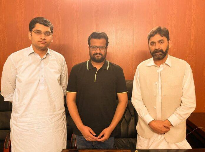 YPP officials met with AJK Minister Higher Education